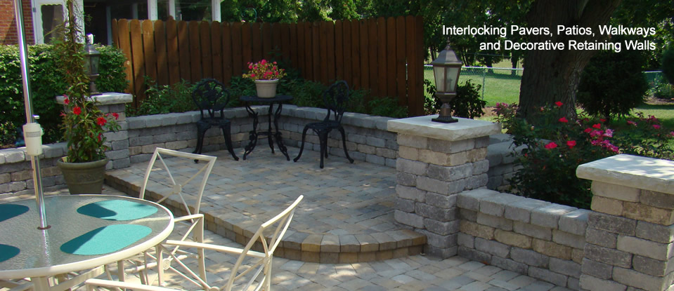 hardscaping pavers patios walkways